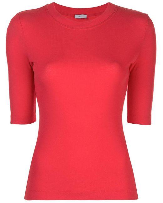 Rosetta Getty ショートスリーブ Tシャツ Red