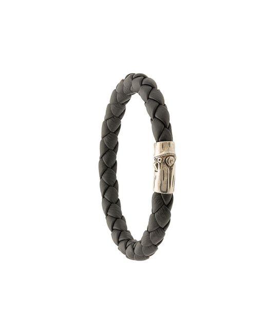 John Hardy 'Bamboo' Armband in Black für Herren