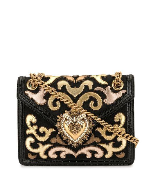Dolce & Gabbana Devotion バッグ Black
