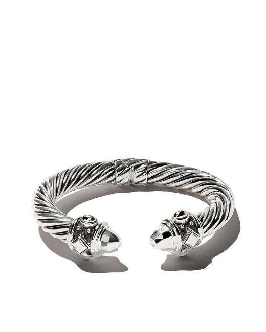 David Yurman - Metallic Renaissance Cable Cuff Bracelet - Lyst