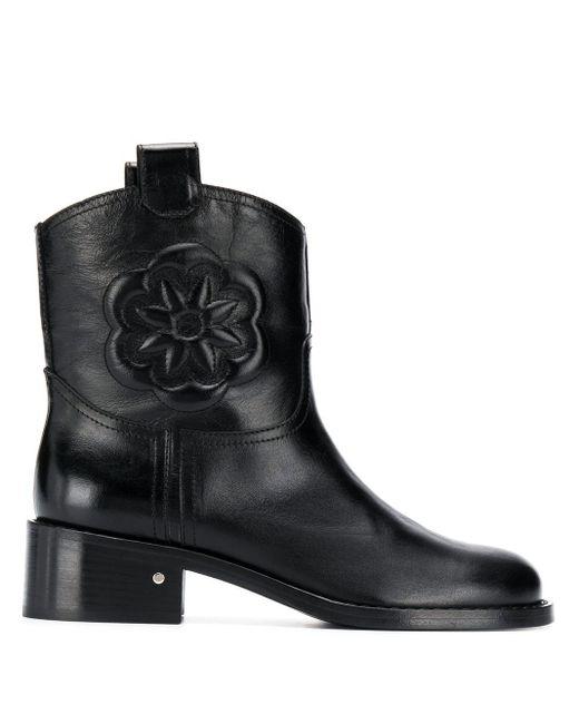 Ботильоны Tebaldo Laurence Dacade, цвет: Black