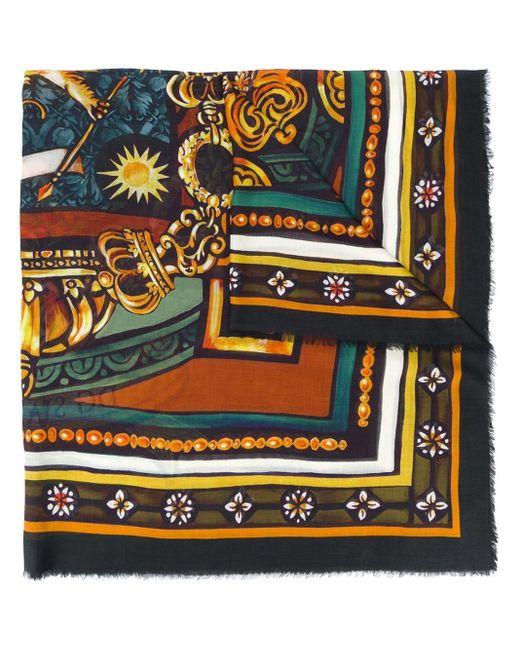 メンズ Dolce & Gabbana レース スカーフ Multicolor
