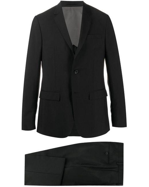 メンズ Mackintosh Mr. Start ツーピース スーツ Black
