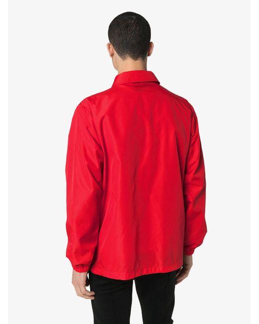Куртка С Логотипом Moschino для него, цвет: Red