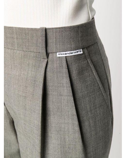 Alexander Wang テーラードパンツ Gray