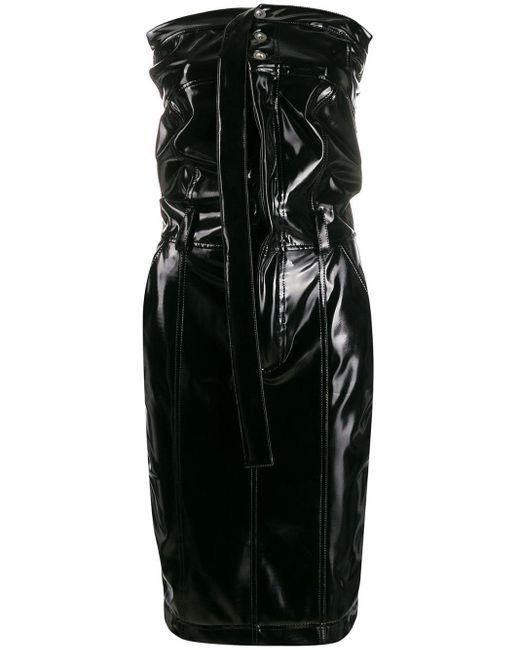 Unravel Project ストラップレス ドレス Black