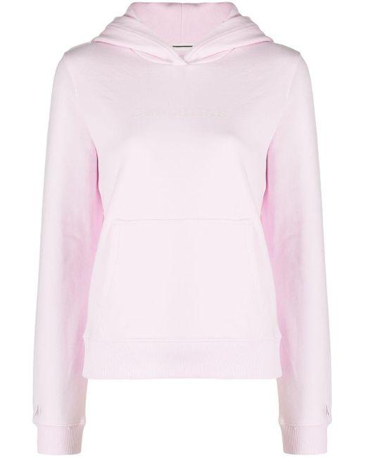 Calvin Klein オーガニックコットン パーカー Pink
