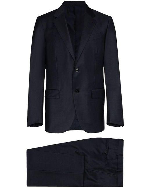 メンズ Ermenegildo Zegna ツーピース スーツ Blue