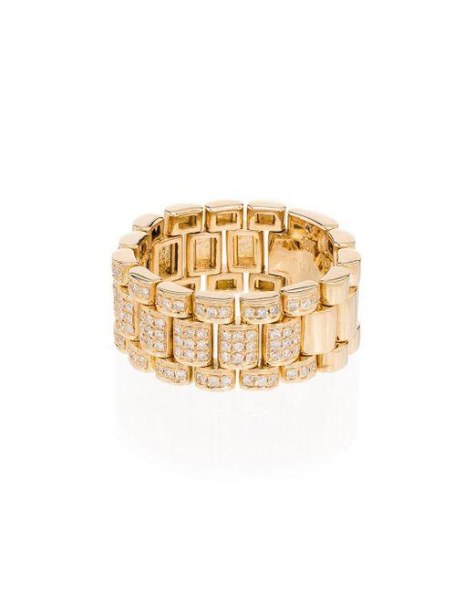 メンズ SHAY ダイヤモンド リング 18kイエローゴールド Metallic