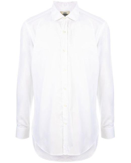 メンズ Kent & Curwen ボタン シャツ White