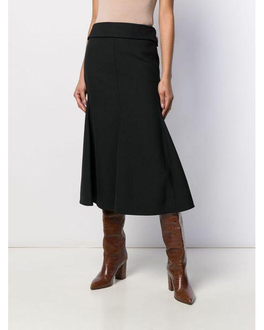 Victoria Beckham チェーンディテール スカート Black