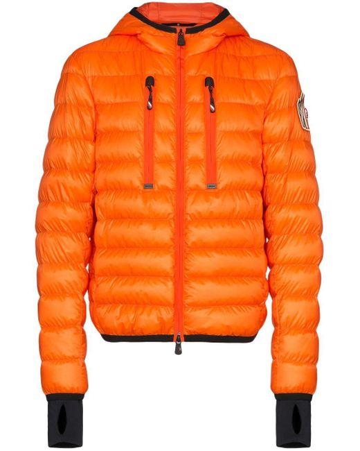 メンズ 3 MONCLER GRENOBLE Kavik ダウンジャケット Orange