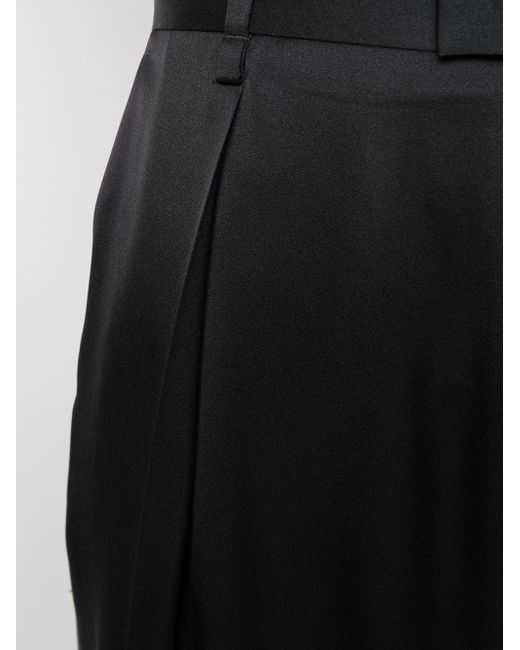 Брюки С Завышенной Талией Bottega Veneta, цвет: Black