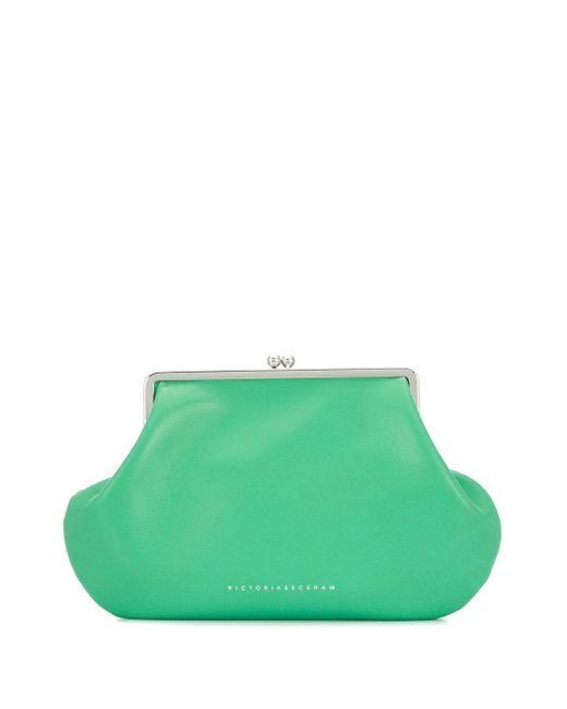 Victoria Beckham ポケット クラッチバッグ Green