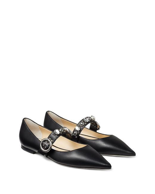 Балетки Gela Jimmy Choo, цвет: Black
