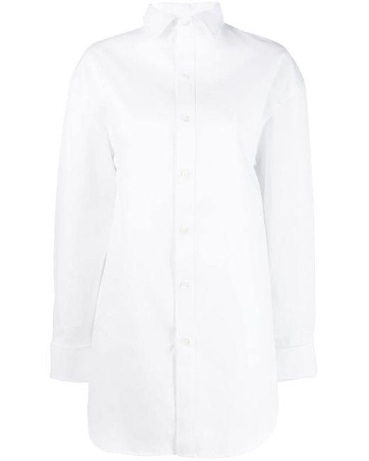 Balenciaga ハイネック シャツ White