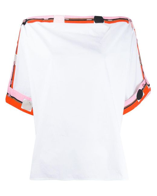 Emilio Pucci プリント トップ White