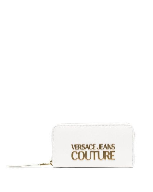 Versace Jeans ファスナー財布 White