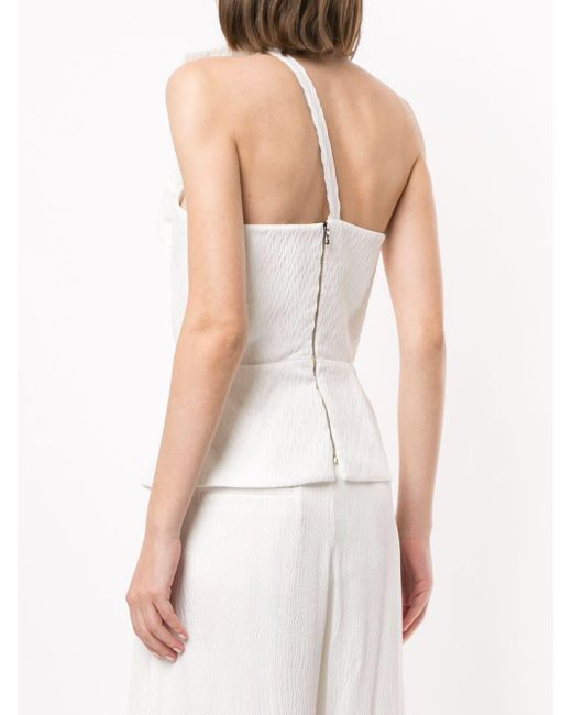 Roland Mouret Whitefield ワンショルダートップ