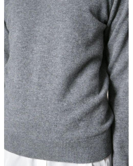 Equipment クルーネック セーター Gray