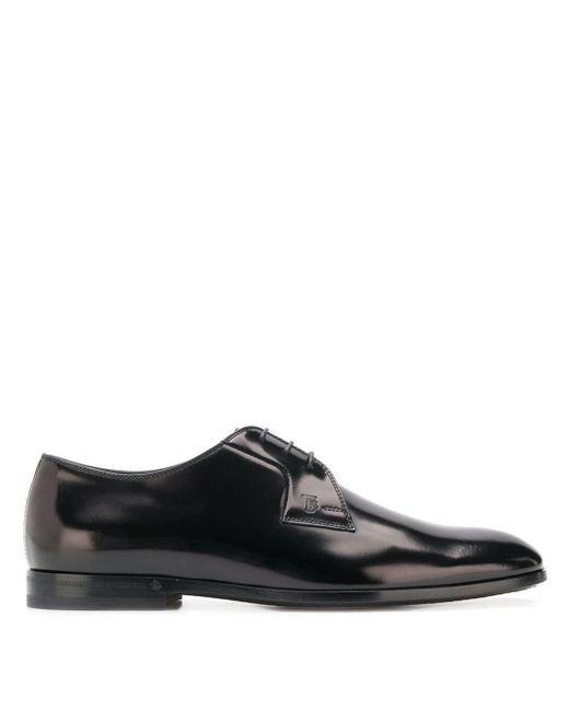 Туфли На Шнуровке Tod's для него, цвет: Black