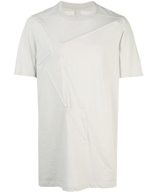 メンズ Rick Owens ロングライン Tシャツ Multicolor