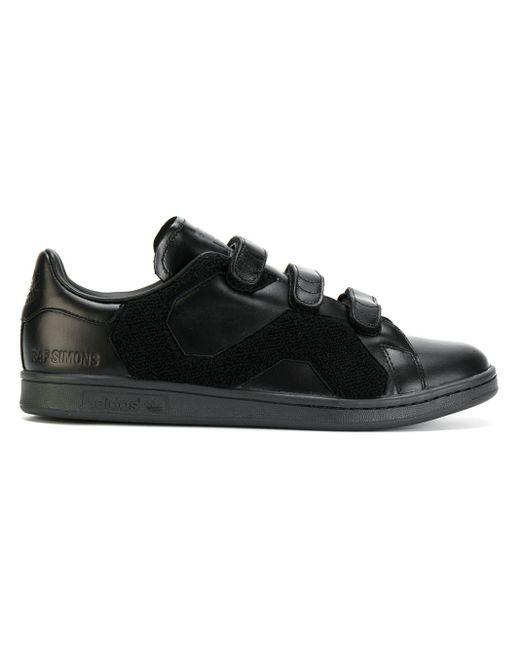 メンズ Adidas By Raf Simons Stan Smith スニーカー Black