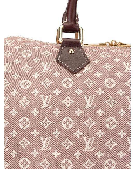 Сумка Speedy 30 Bandouliere С Ручками И Ремнем Pre-owned Louis Vuitton, цвет: Red
