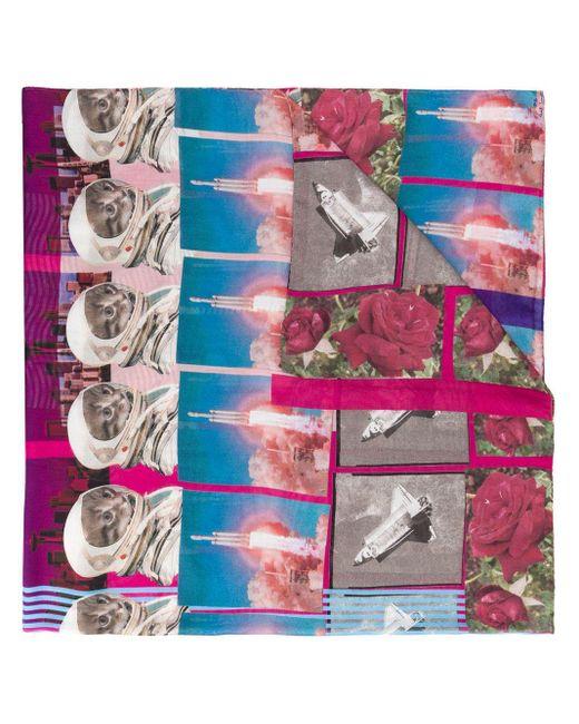 Paul Smith フローラル スカーフ Multicolor