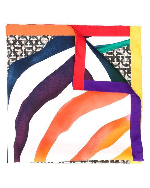 Ferragamo モノグラム スカーフ Multicolor