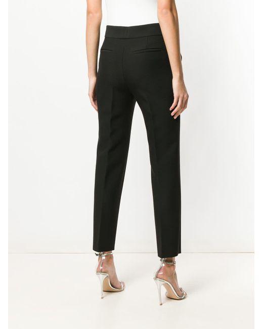Pantalon slim classique MSGM en coloris Black