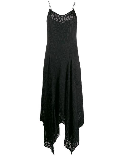 Just Cavalli ジャカードスタイル ドレス Black
