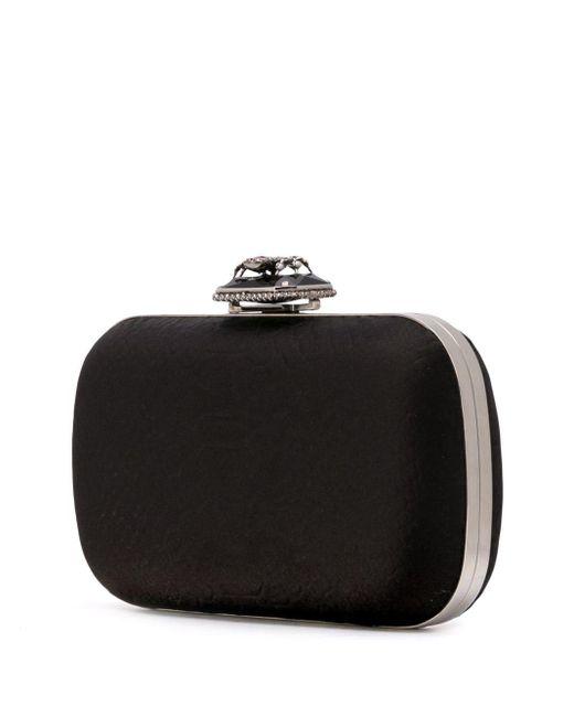 Декорированный Клатч Alexander McQueen, цвет: Black