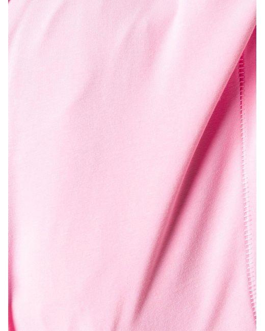 Rag & Bone Uネック ストレッチ ボディスーツ Pink