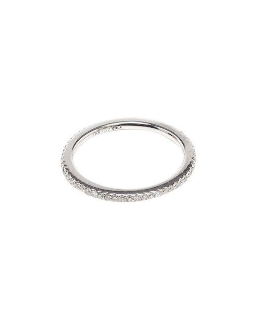 Rosa De La Cruz | 18k White Gold & Diamond Midi Ring | Lyst