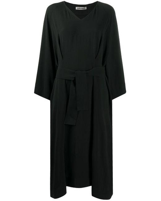 Henrik Vibskov ベルテッド ドレス Black