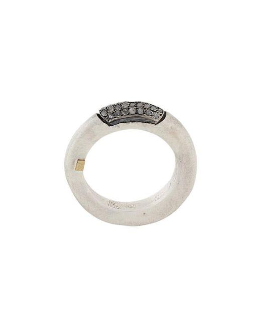 Rosa Maria | Metallic Saphosstdia Diamond Ring | Lyst