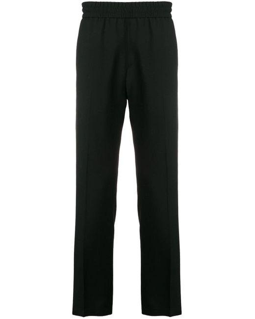 Pantalones joggers con logo Givenchy de hombre de color Black