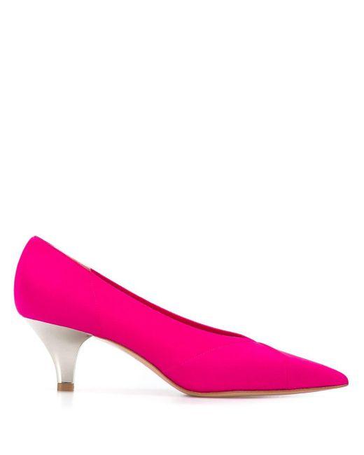 Casadei キトゥンヒール パンプス Pink