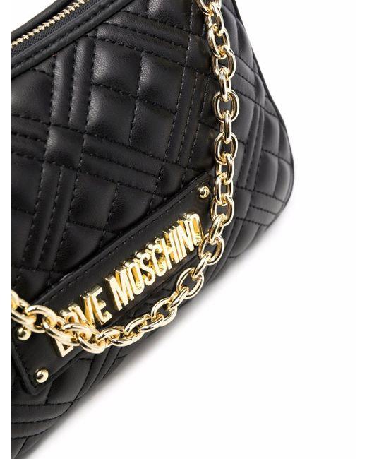 Love Moschino キルティング バッグ Black