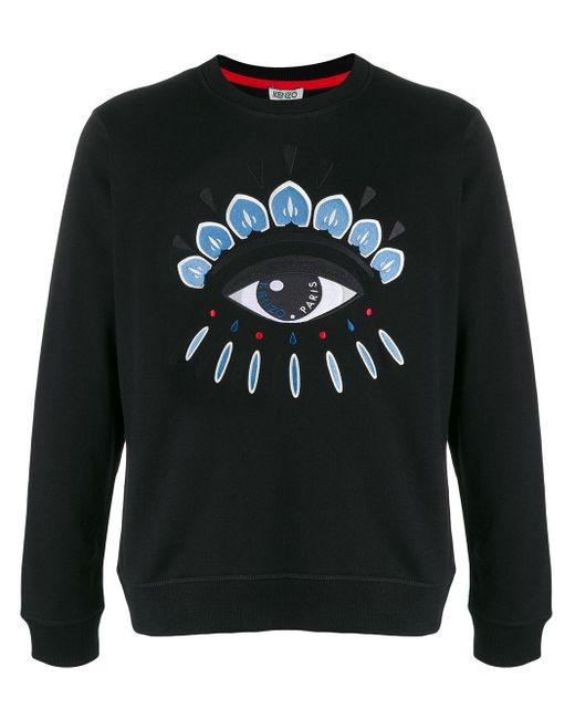 メンズ KENZO Eye スウェットシャツ Black
