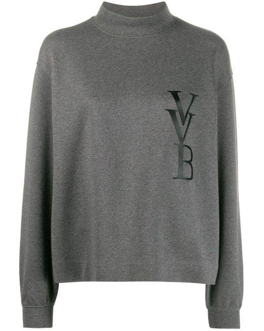 Victoria, Victoria Beckham ロゴ プルオーバー Gray