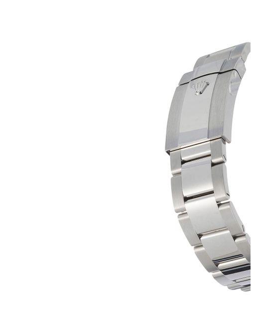 Наручные Часы Oyster Perpetual Datejust 41 Мм Pre-owned Rolex для него, цвет: Gray