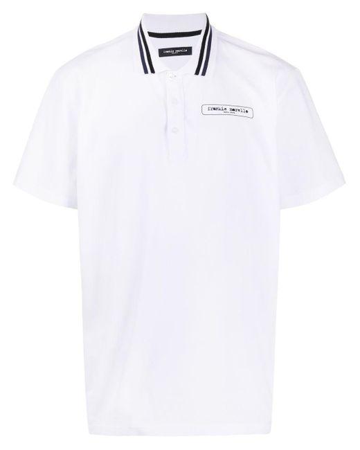 メンズ Frankie Morello ロゴ ポロシャツ White
