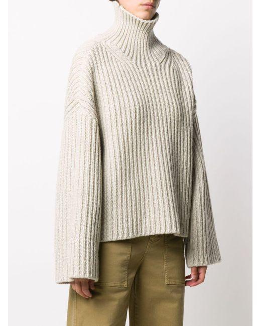 Nanushka Raw タートルネック セーター Natural