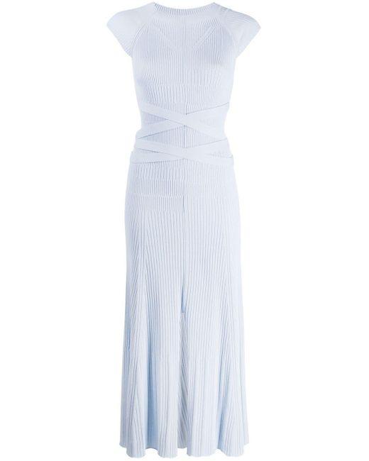 Mrz リブニット ドレス Blue