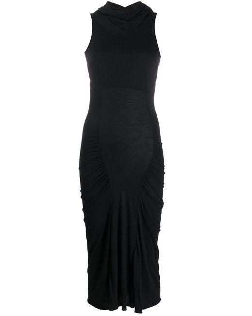 Rick Owens Lilies オープンバックドレス Black