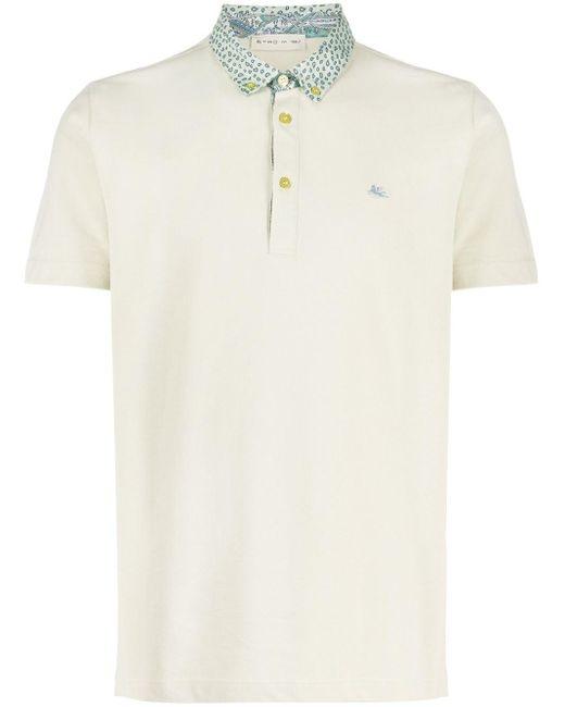 メンズ Etro ポロシャツ White