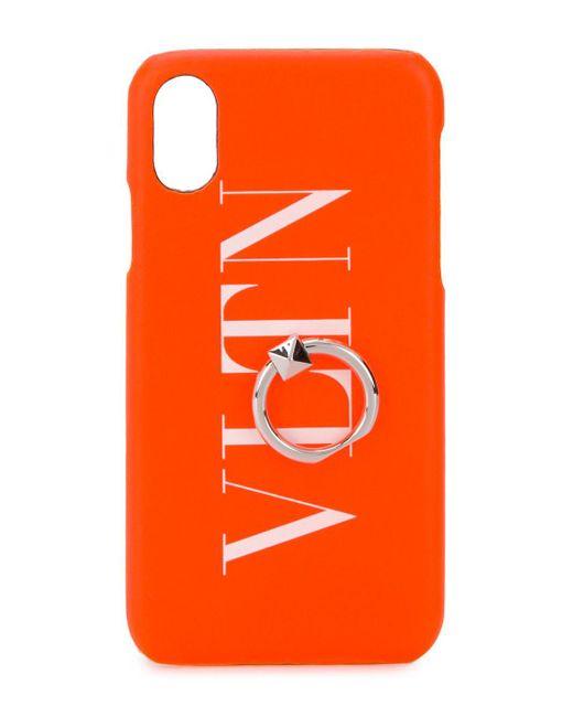 メンズ Valentino Garavani Iphone X/xs ケース Orange