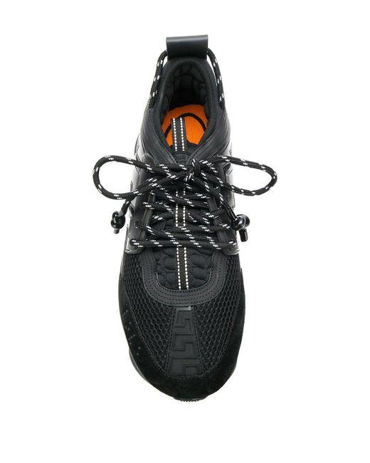 Кроссовки 'chain Reaction' Versace для него, цвет: Black